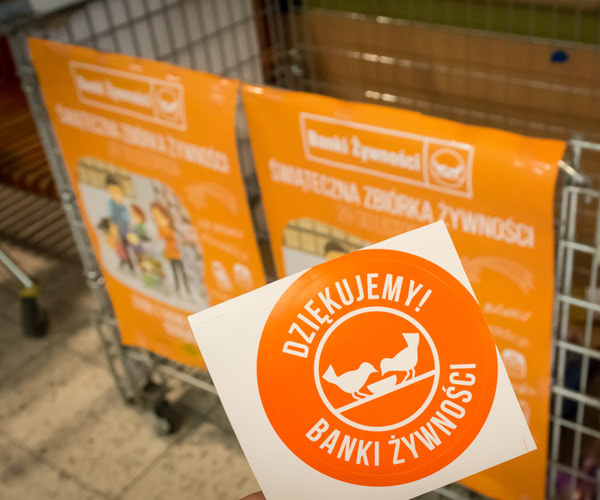 Cooperation with Food Banks
