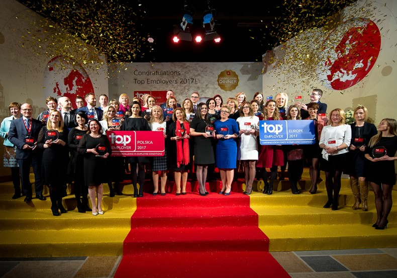 Top Employer Certificate for Carrefour Poland