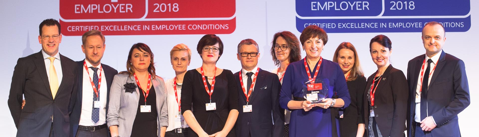 Carrefour Poland for the second time with the certificate Top Employer