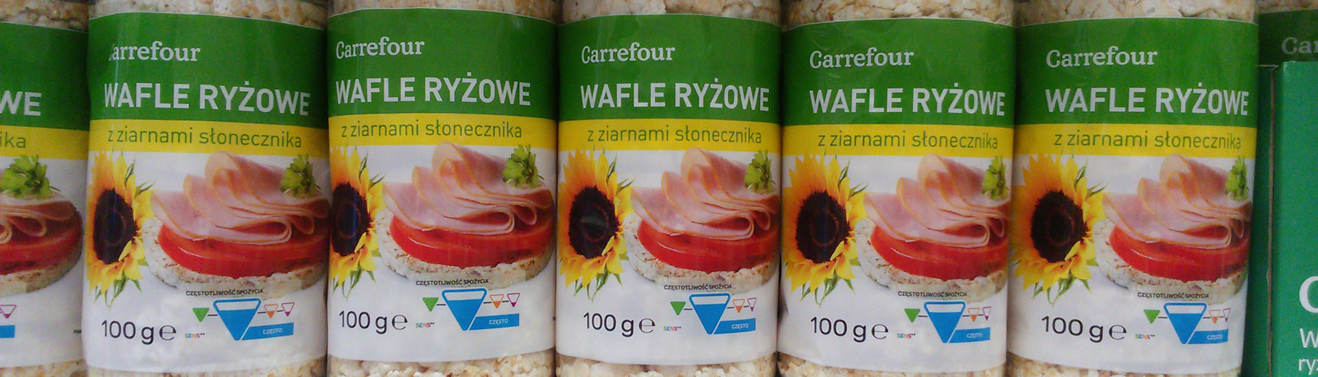 More and more products with the label SENS in Carrefour Poland stores