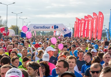 Carrefour ends the 2017 running season in Cracow
