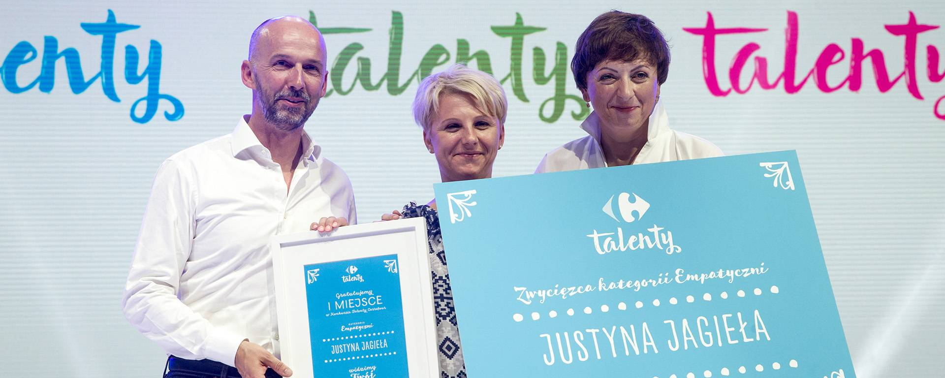 """Carrefour Talents""  with the certificate HR Best Quality"