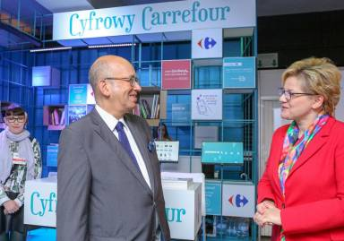 Carrefour with its Marketplace offer on Warsaw Book Fair