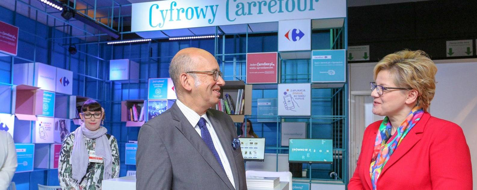 Carrefour on Warsaw Book Fair