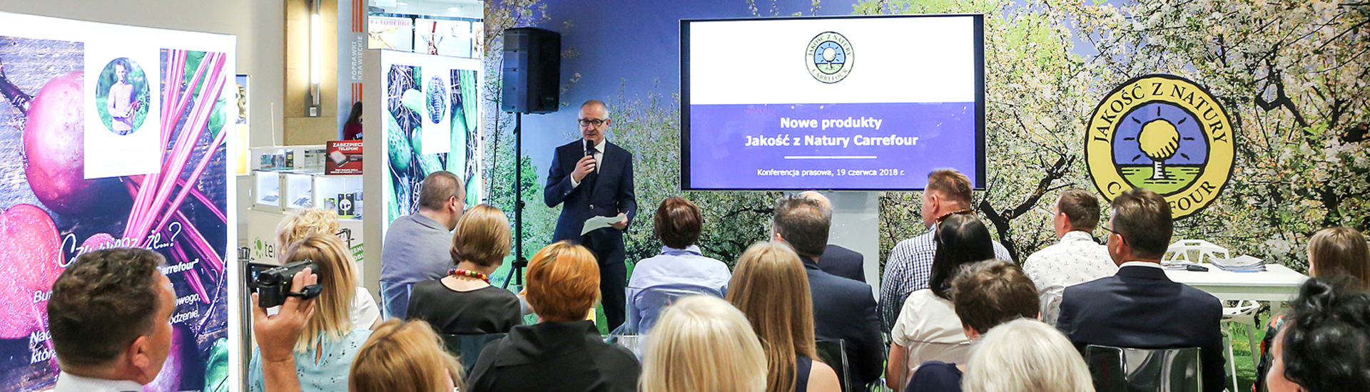 "Carrefour launches 4 new products ""Jakość z Natury Carrefour"""