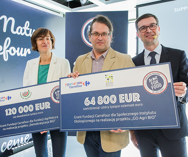 Carrefour Foundation's grants