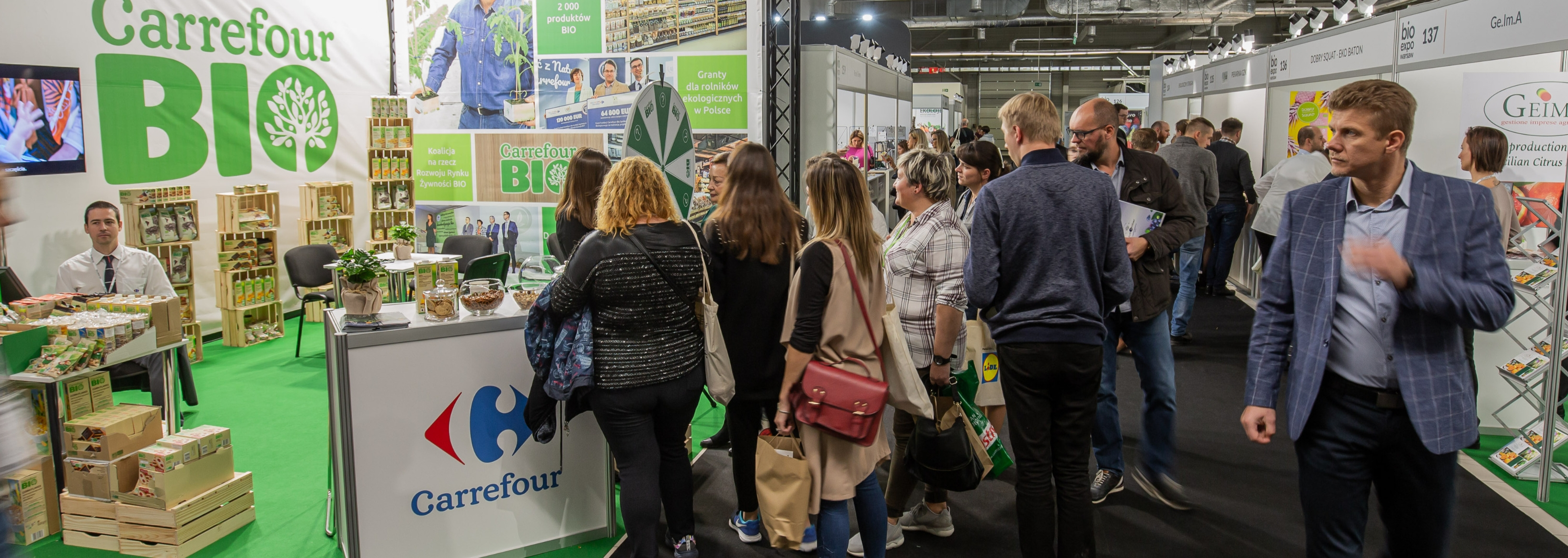 CARREFOUR PRESENTS THE OFFER OF OWN BRAND BIO PRODUCTS AT BIOEXPO
