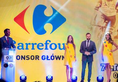 Carrefour Poland once again partner of the Tour de Pologne – National Race of the Independence