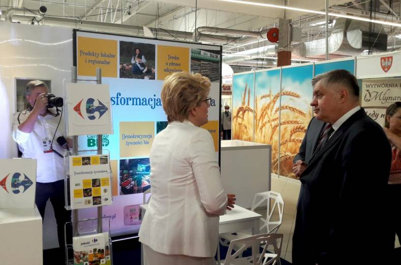 Carrefour Poland on Warsaw Food Expo 2018
