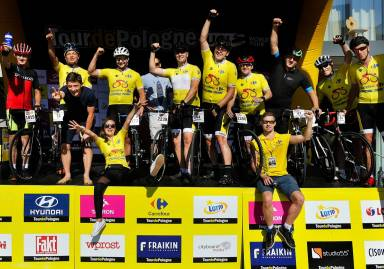 Tour de Pologne Amateurs with the participation of Carrefour