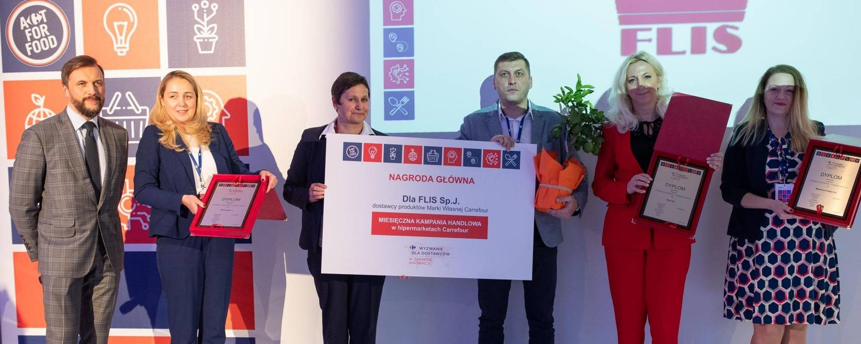 The most innovative Carrefour suppliers awarded