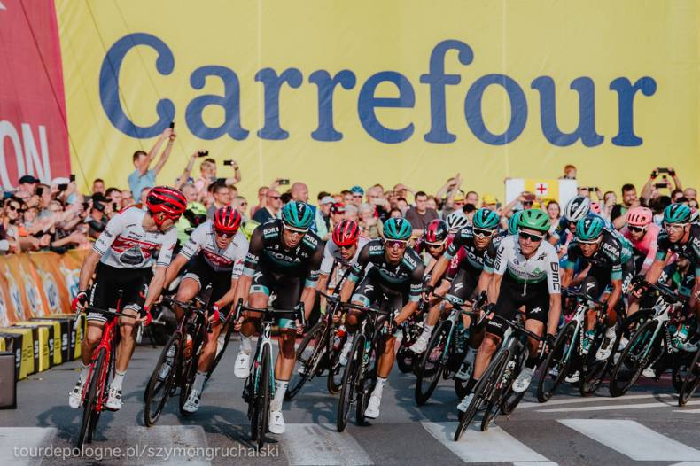 Huge interest in 76th Tour de Pologne racing with Carrefour Poland