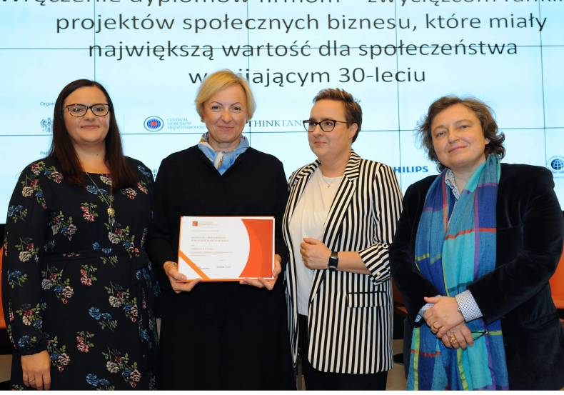 CARREFOUR AWARDED FOR CHARITY ACTIONS