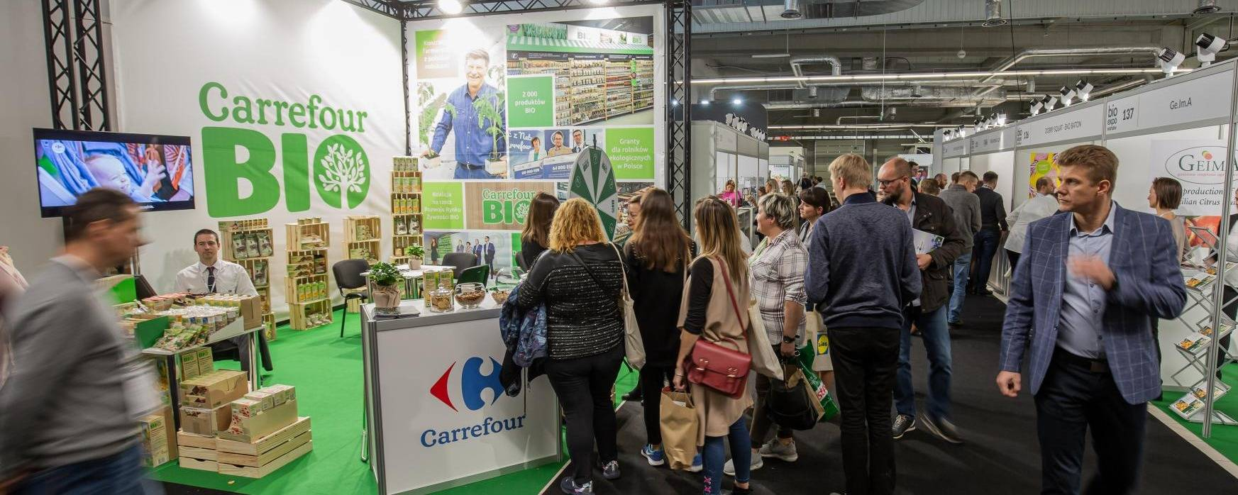 Carrefour BIO products at BIOEXPO
