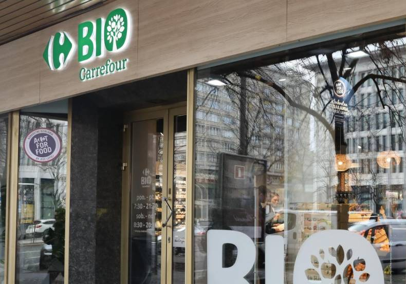 The first Carrefour BIO store in Poland is launched