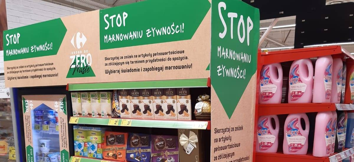 Save from waste - new zones at Carrefour